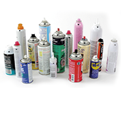 Aerosol spray cans