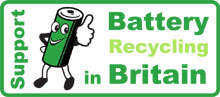 Support battery recycling