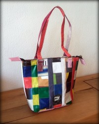 bag from plastic sachets