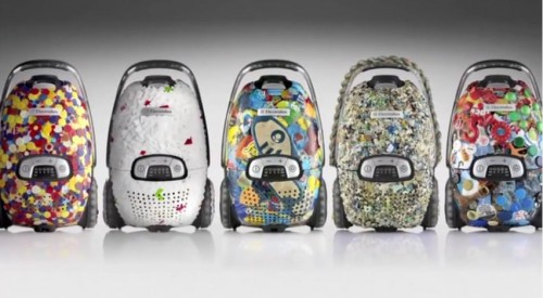 recycled plastic vacuum cleaners