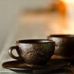 Kaffee Form - coffee grounds