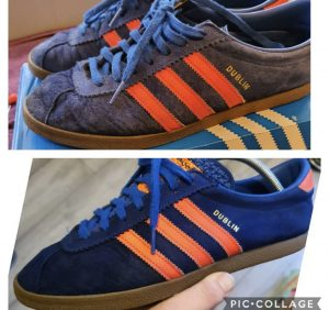 Restored trainers