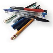 Pens, biro, pencils
